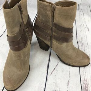 Aldo Suede Heeled Booties